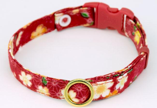 デイリー首輪EX 麻の葉桜