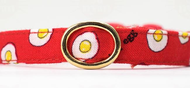 デイリー首輪EX Fried egg(フライドエッグ)