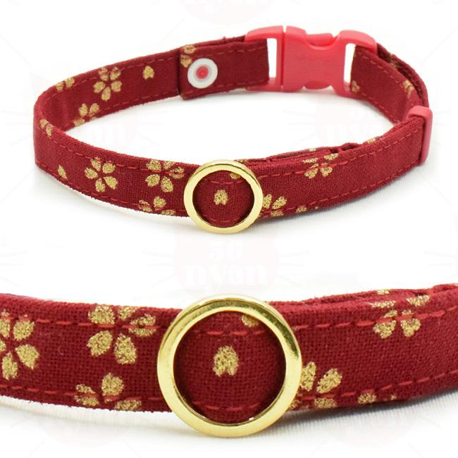 デイリー猫用首輪EX 黄金桜
