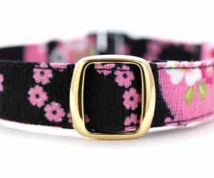 デイリー首輪15mm幅 ゆらめき桜