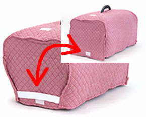 お外でキャリー、お家でハウス! キャンピングキャリー〜シングルドアタイプSサイズ(本体ピンク)×ゴロにゃんオリジナルカバー付き