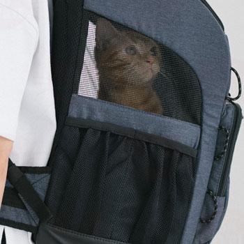 ペット 猫用キャリー エアバギー 3ウェイ バックパックキャリー 3WAY BACKPACK CARRIER