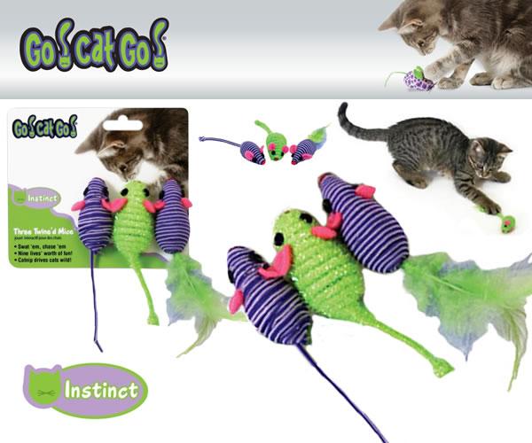 SC ゴーキャットゴー スリーマウス〜3個セット