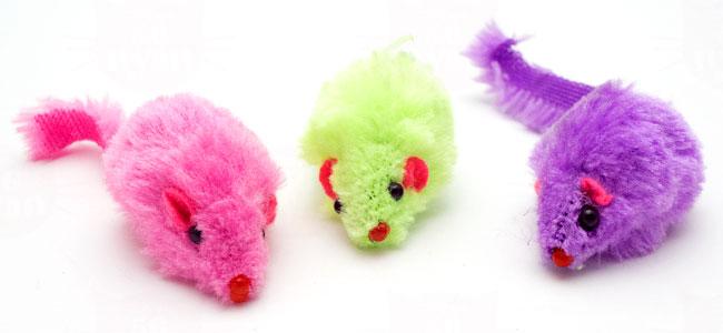 プラッツ 猫のおもちゃ カラーマウス Color Mouse