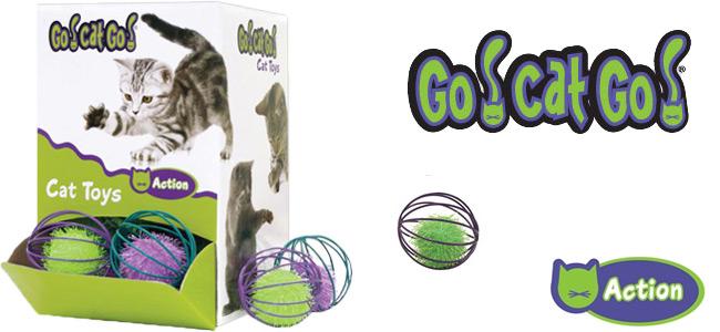 SC ゴーキャットゴー バルクボール1個 GO-21(ケージ)】(お色はおまかせ下さい)