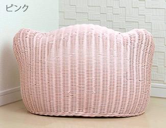 ピンク 背面