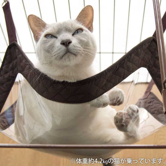 ネコうらみえちゃうサークルハンモック 猫用ハンモック