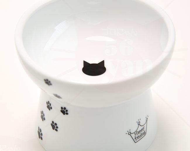 猫壱 脚付フードボウル Lサイズ