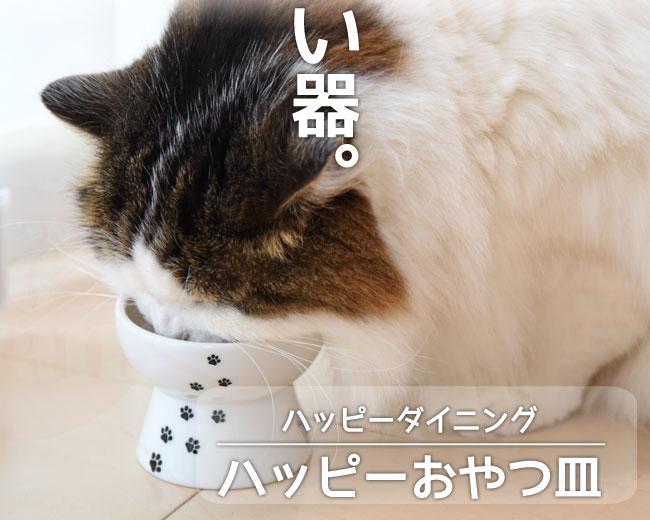 猫壱 ハッピーダイニング ハッピーおやつ皿