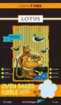 LOTUS ロータス キャット グレインフリー オーブンベイク製法の猫用ドライフード