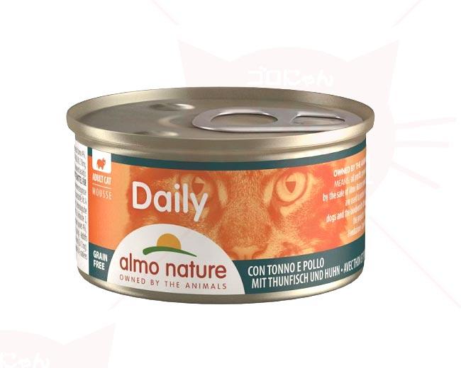 アルモネイチャー ウェットフード(缶詰) デイリーメニュー まぐろとチキンムース (148) 85g