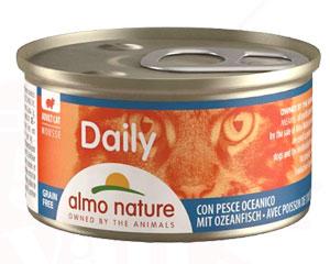 アルモネイチャー ウェット ウェットフード デイリーメニュー海魚入りお肉のムース 85g 缶詰タイプ(152)