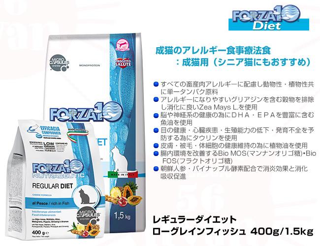 フォルツァ10(フォルツァディエチ) ローグレイン フィッシュ