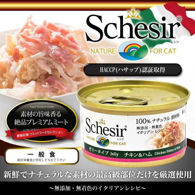 シシア キャット チキンフィレ&ハム ゼリータイプ 85g 一般食
