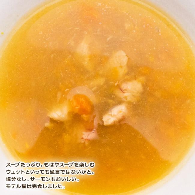 シシア スープ ピンクサーモン&キャロット 85g 味見