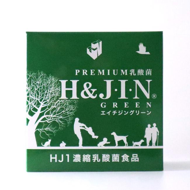プレミアム乳酸菌 H&JIN GREEN エイチジングリーン 動物用