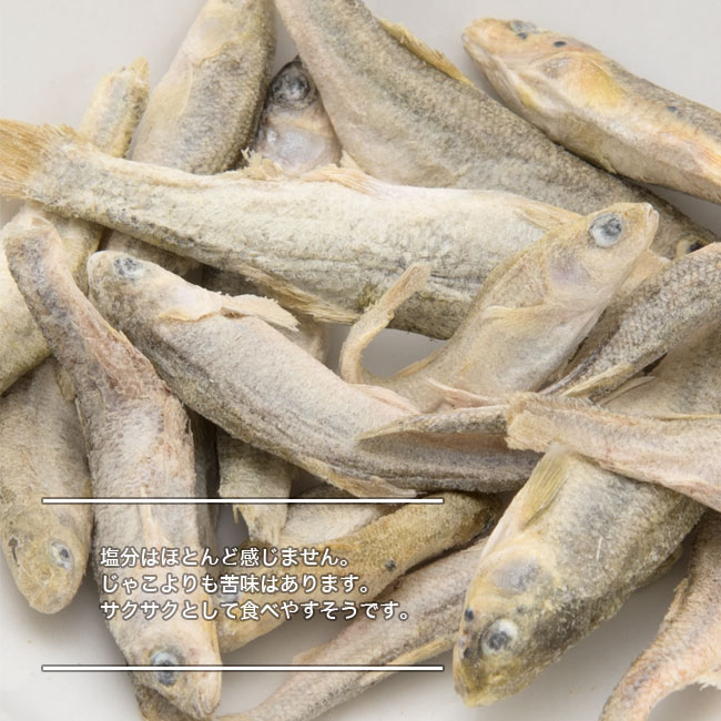 淡水魚フリーズドライ 湖の天然小魚たち 味