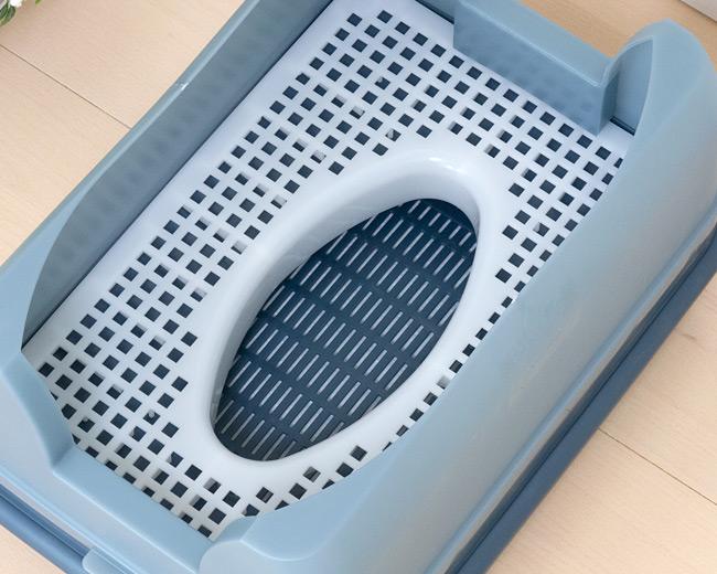 キャットワレ catoile 猫砂が飛び散らない省スペースシステムトイレ