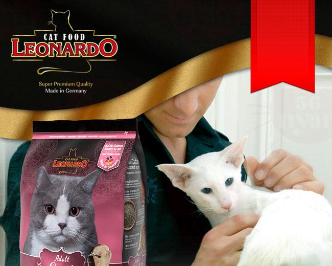 LEONARD レオナルド 成猫用ドライフード ライト 肥満傾向の猫用 2kg