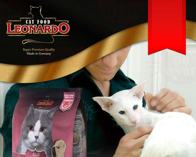 LEONARD レオナルド 成猫用ドライフード ライト 肥満傾向の猫用 400g