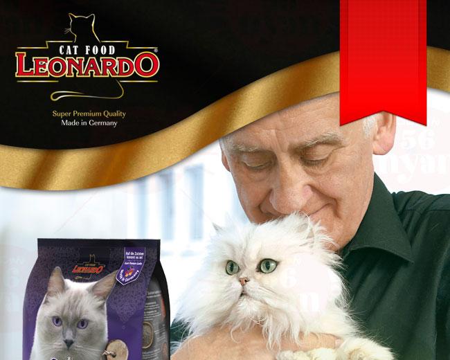 LEONARD レオナルド 高齢猫用ドライフード シニア 400g