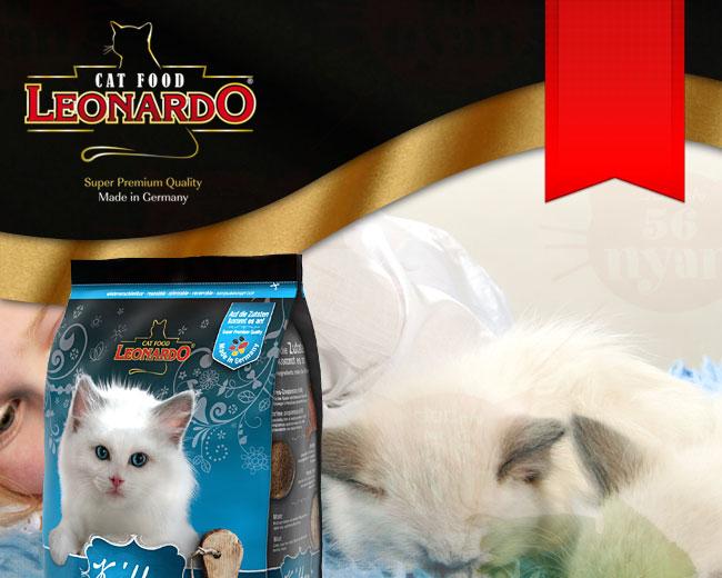 LEONARD レオナルド 子猫用ドライフード キトン 2kg