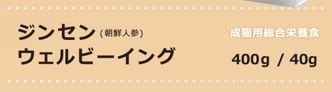 VIGOR&SAGE ビゴー&セイジ 成猫用 ジンセン ウェルビーイング