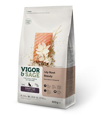 VIGOR&SAGE ビゴー&セージ 成猫用 リリールート ビューティ